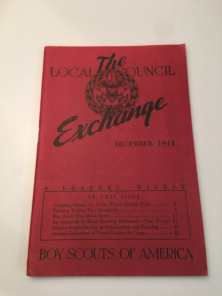December, 1943 Local Council Exchange