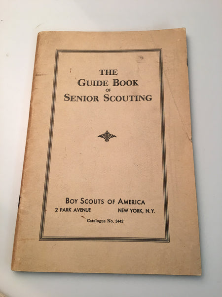 1935 Guidebook of Senior Scouting