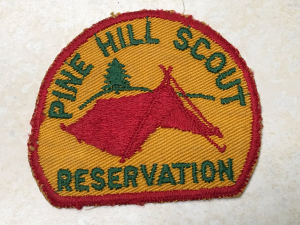 Pine Hill Scout Reservation Cut Edge Twill Camp Patch