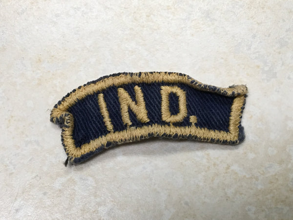 Indiana Blue & Gold BGS State Strip