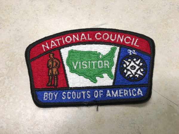 National Council Visitor CSP Patch