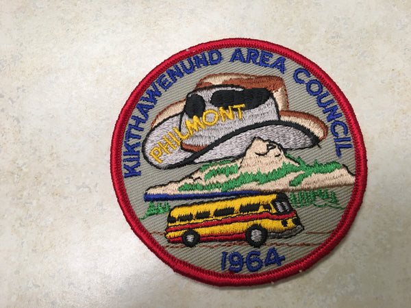 1964 Kikthawenund Area Council Philmont Contingent Patch