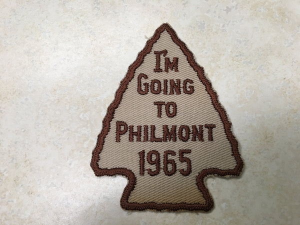1965 I'm going to Philmont Contingent Patch