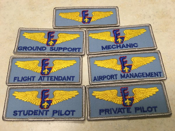 Set of 7 Air Explorer Position Strips