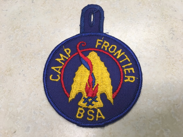 1950's Camp Osceola / Camp Frontier Camp Patch