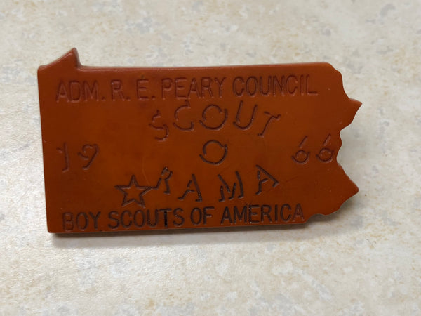 1966 Admiral Peary Council Scout-O-Rama Neal Slide - Small R