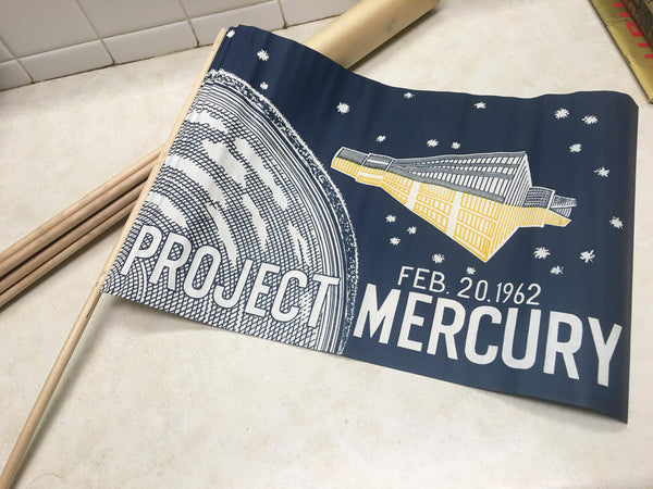 1962 Project Mercury Parade Flag
