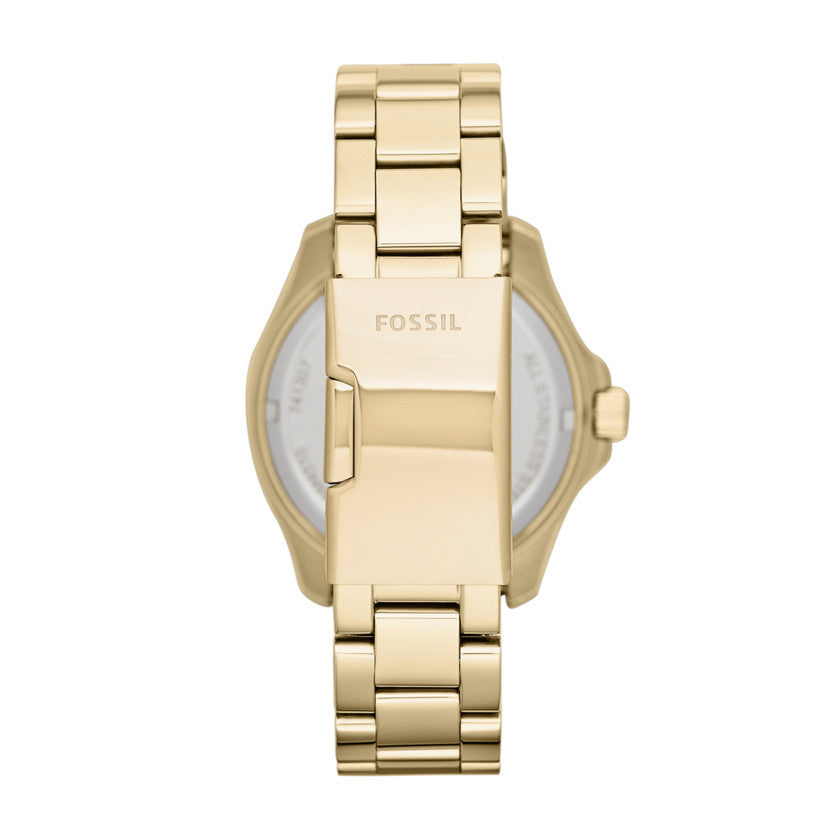 Cecile Multi function Chronograph Watch, Gold | Fossil