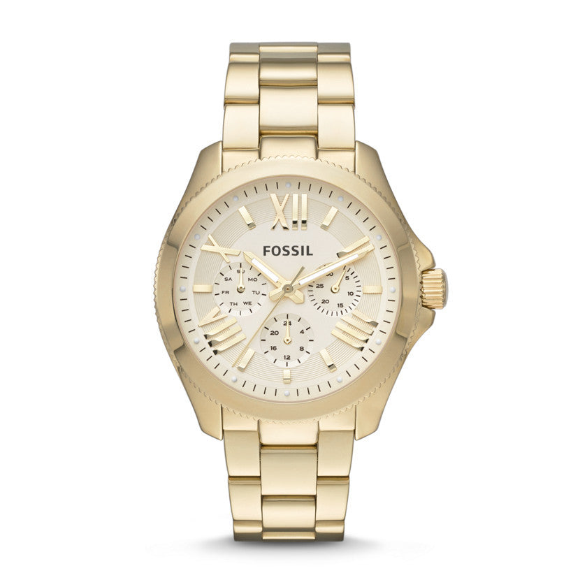Cecile Multifunction Chronograph Watch, Gold | Fossil - The Loft Boutique - Accessory  - 1