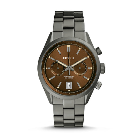 Del Rey Chronograph Watch, Chestnut - The Loft Boutique - Accessory