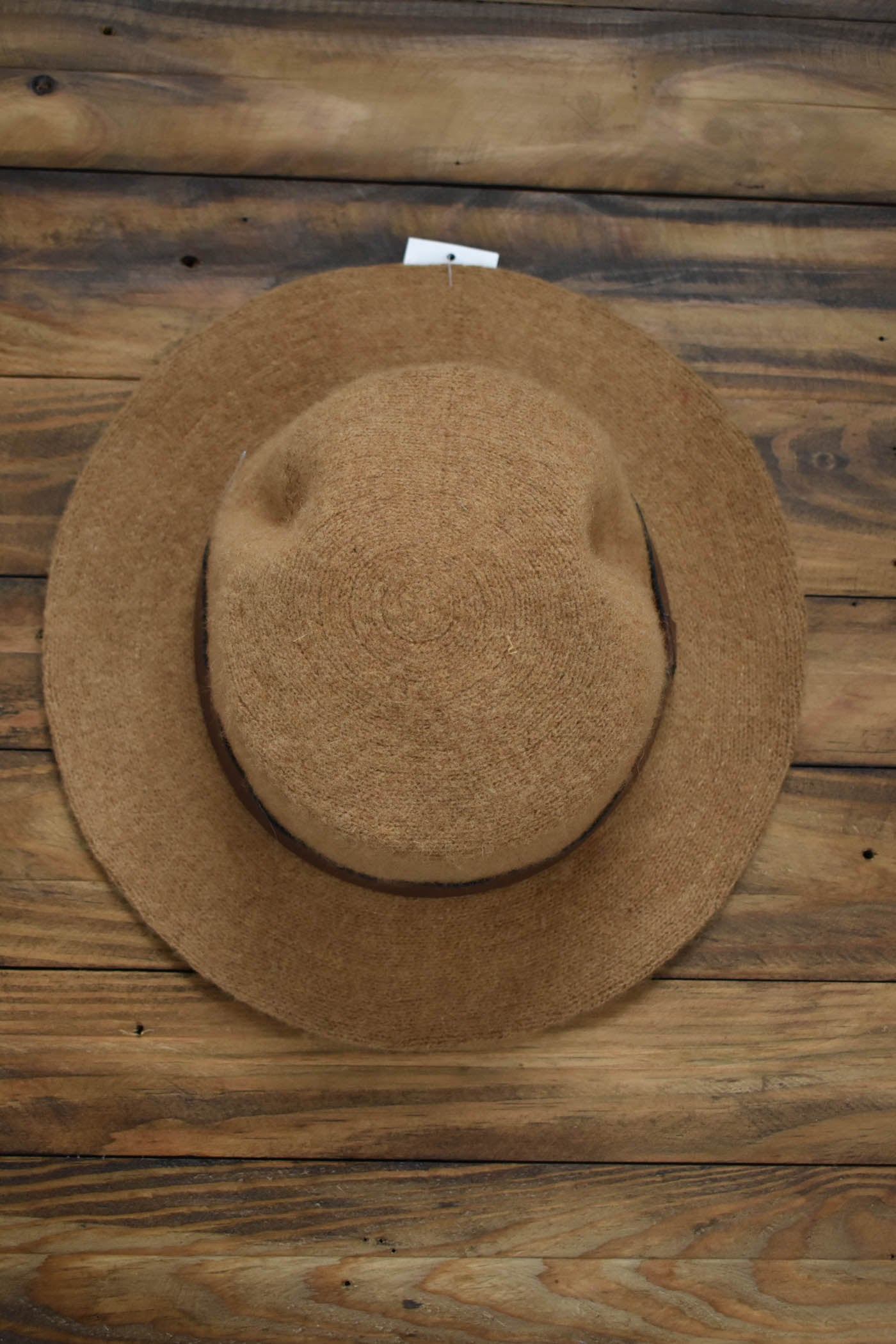 Soft Wool Hat, Tan