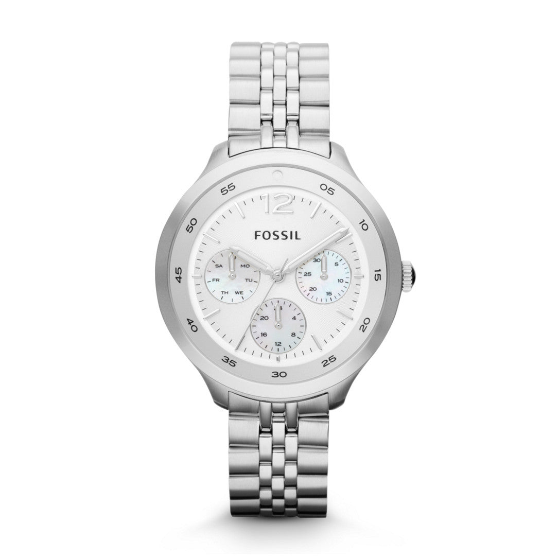Editor Multifunction Watch, Silver - The Loft Boutique - Accessory  - 1