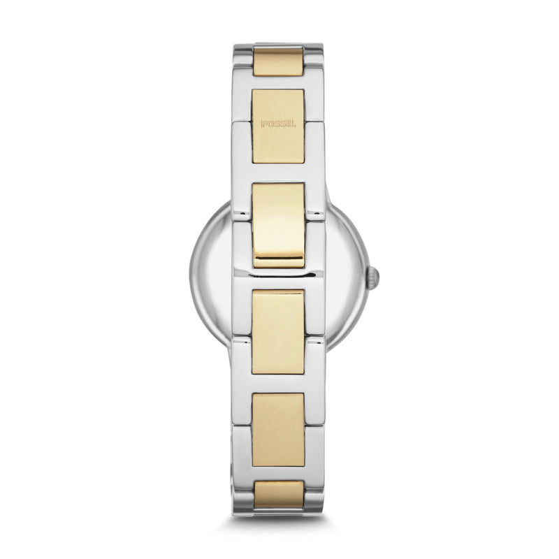 Virginia Three-Hand Watch, Two-Tone