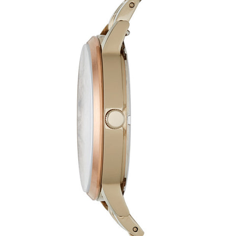 Vintage Muse Beige Gold-Tone Watch - The Loft Boutique - Accessory  - 2