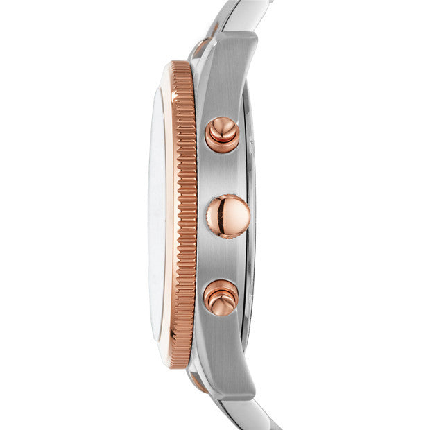 Fossil Sport Multi function Two-Tone Stainless Steel Watch