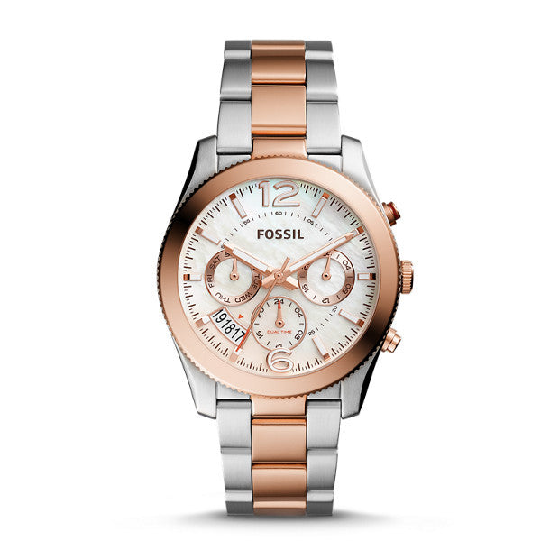 Perfect Boyfriend Sport Multifunction Two-Tone Stainless Steel Watch | FOSSIL