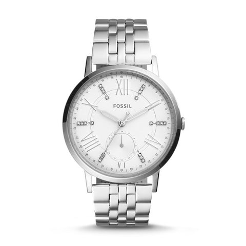 Gazer Multifunction Stainless Steel Watch, Silver