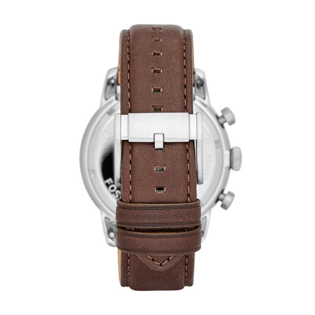 Townsman Chronograph Leather Watch, Brown - The Loft Boutique - Accessory  - 2
