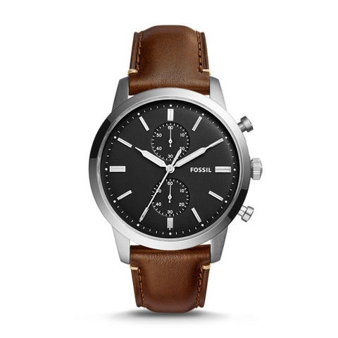 Townsman Chronograph Watch, Brown - The Loft Boutique - Accessory  - 1