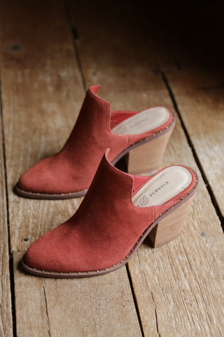 Springfield Suede Shoes, Clay | Chinese Laundry