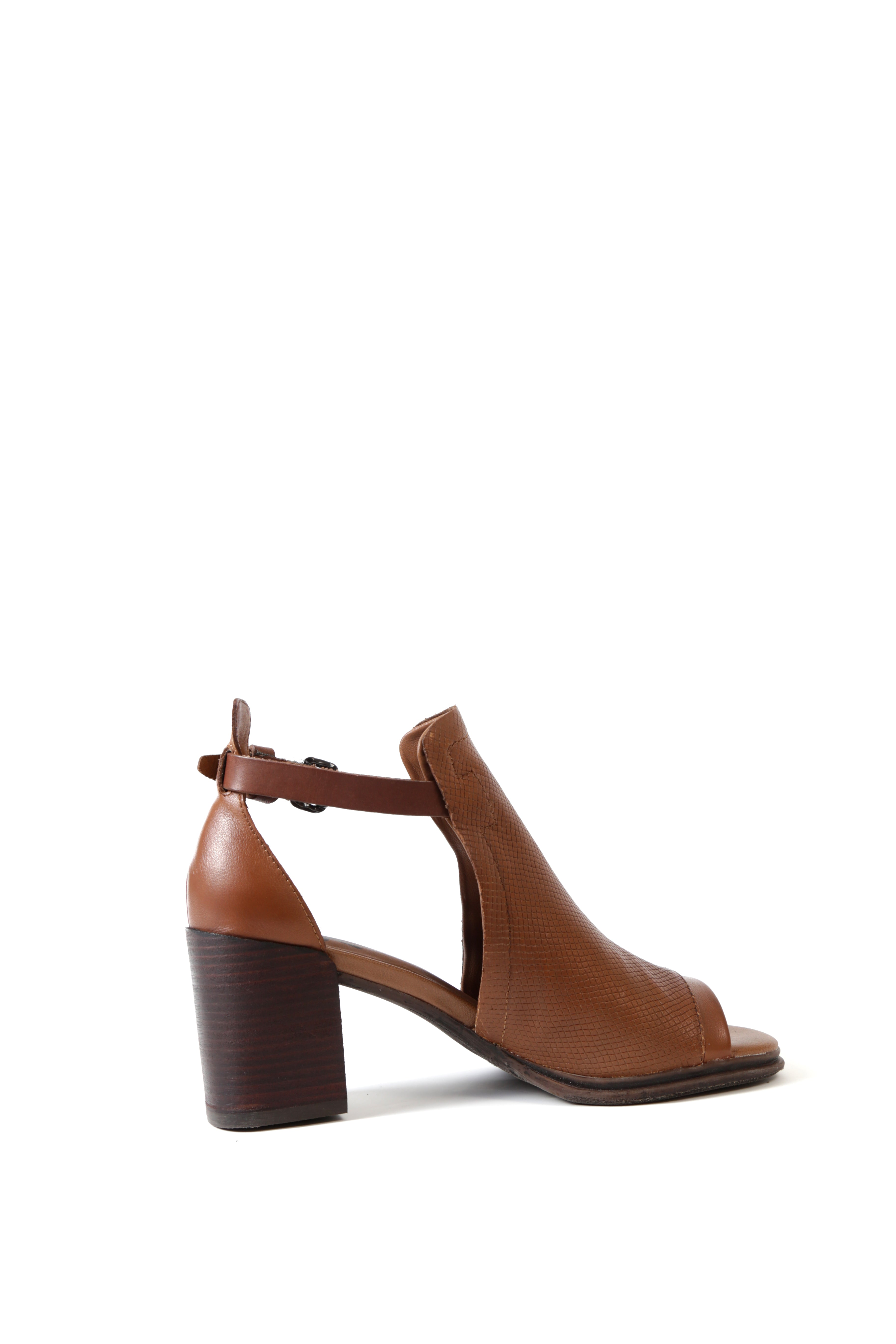 Metaphor Textured Sandal, Brown