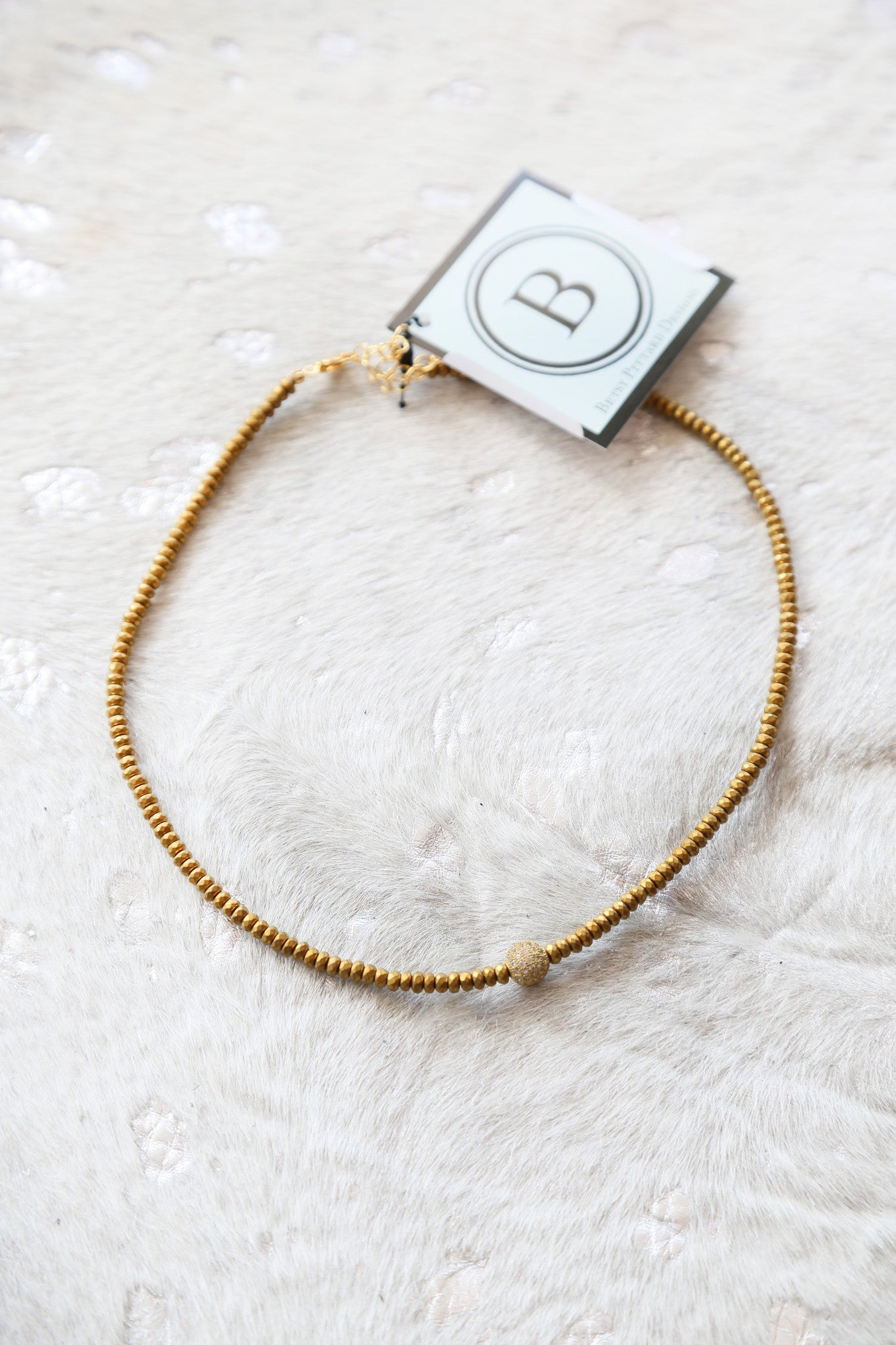 The Forrester Choker, Gold Pave | BPD - The Loft Boutique - Accessory  - 1