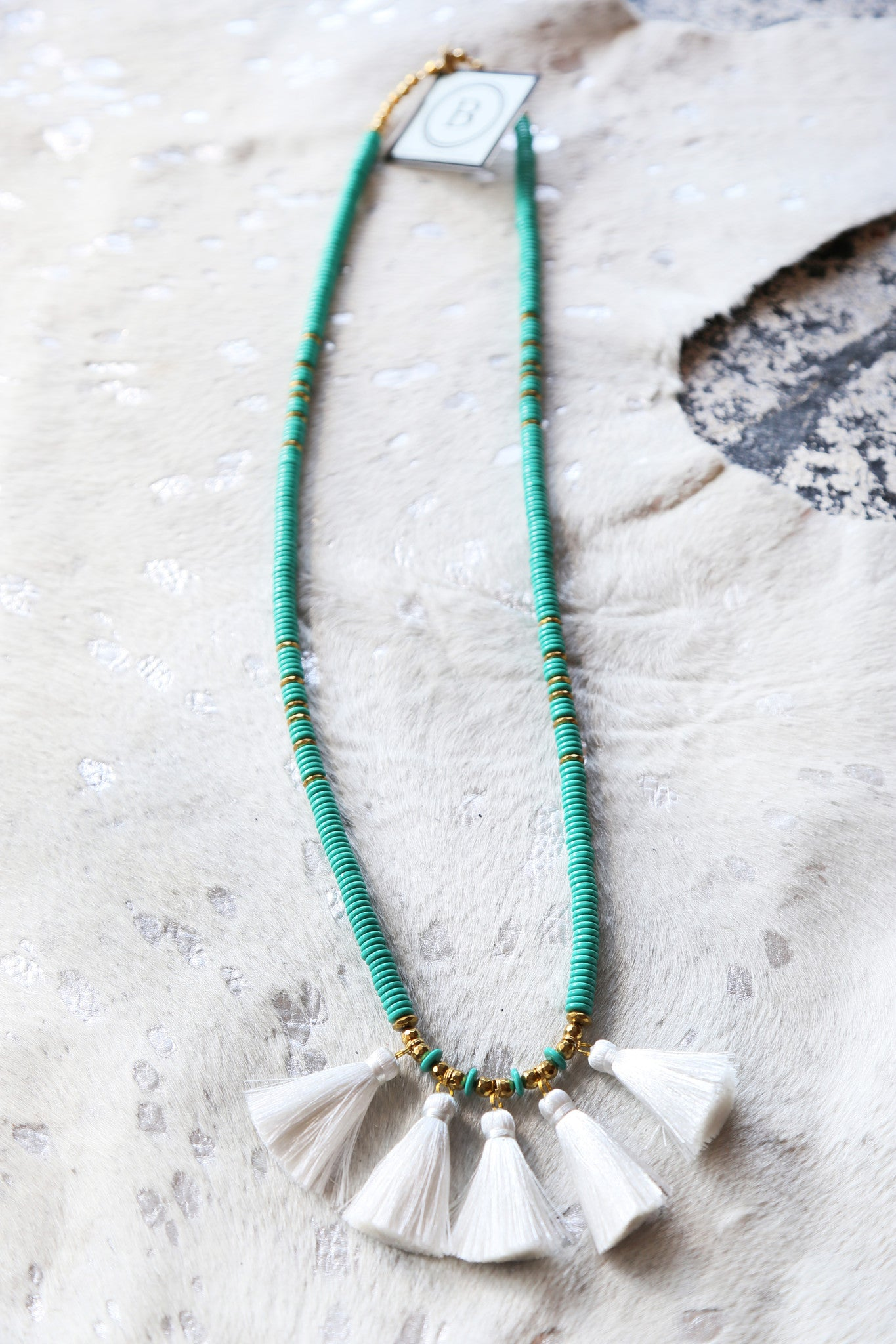 The Teresa Necklace, Turquoise | BPD - The Loft Boutique - Accessory  - 1
