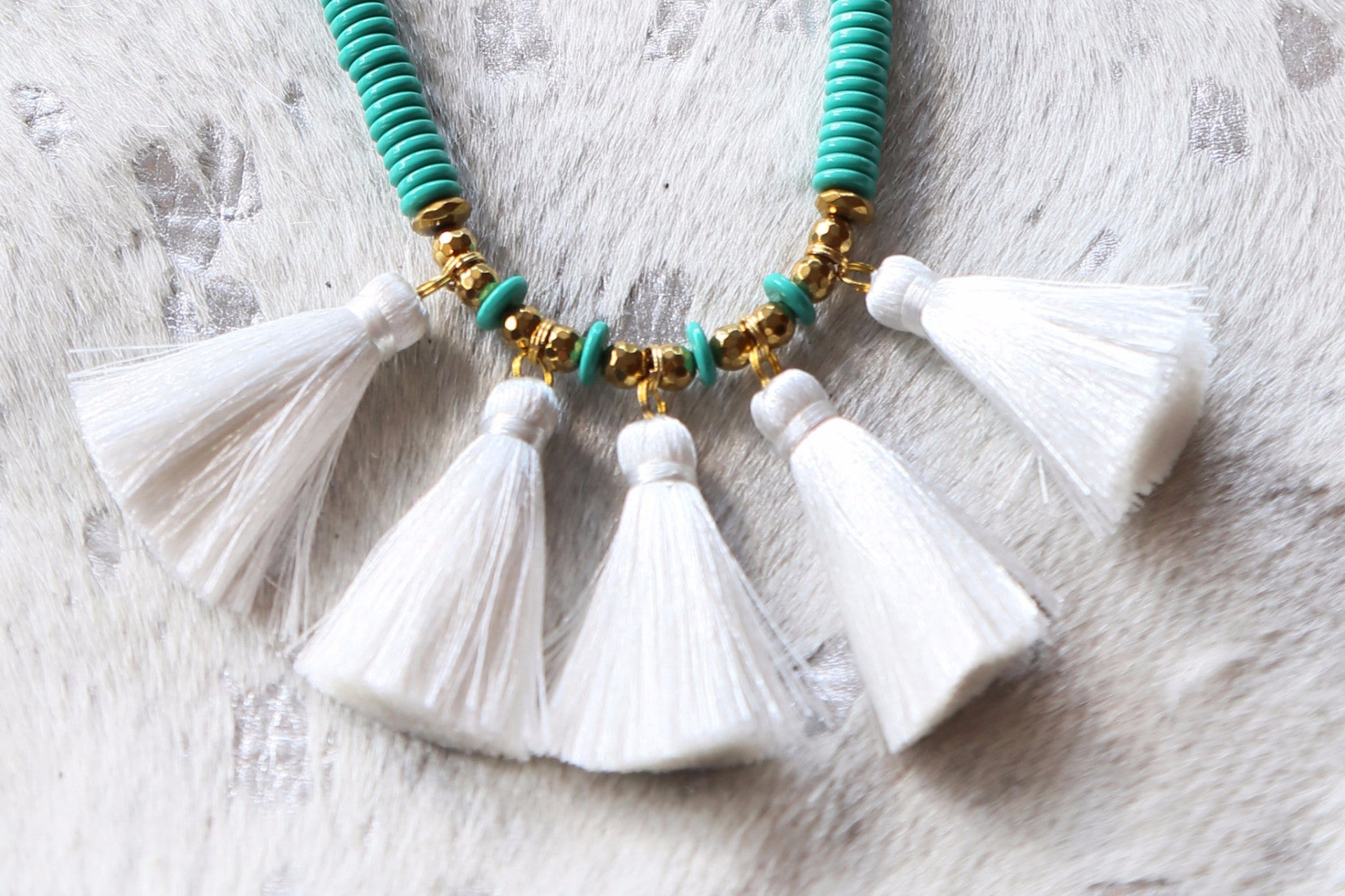 The Teresa Necklace, Turquoise | BPD - The Loft Boutique - Accessory  - 2