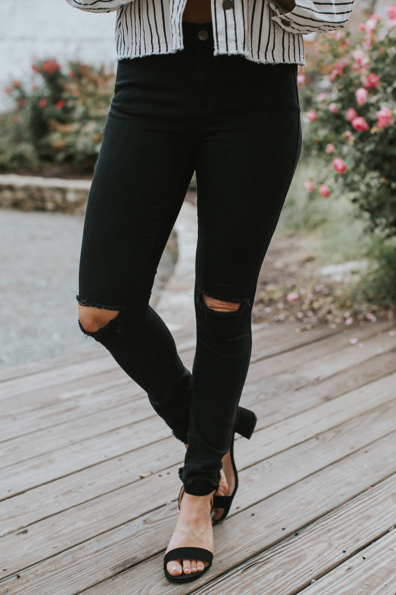 The New Black High Rise Jean