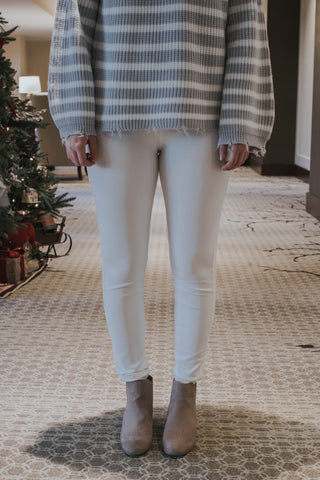 Ricki White Leggings