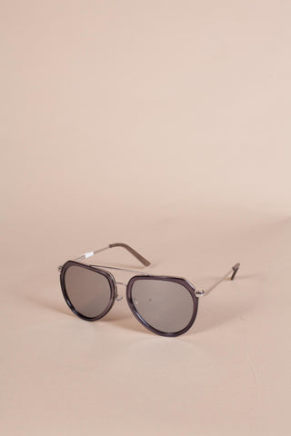 Master Aviator Sunglasses, Grey
