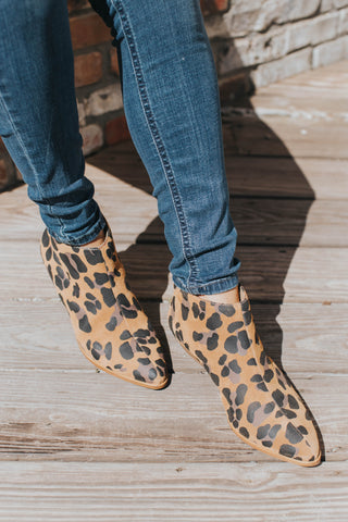Aida Ankle Boot, Leopard | Matisse