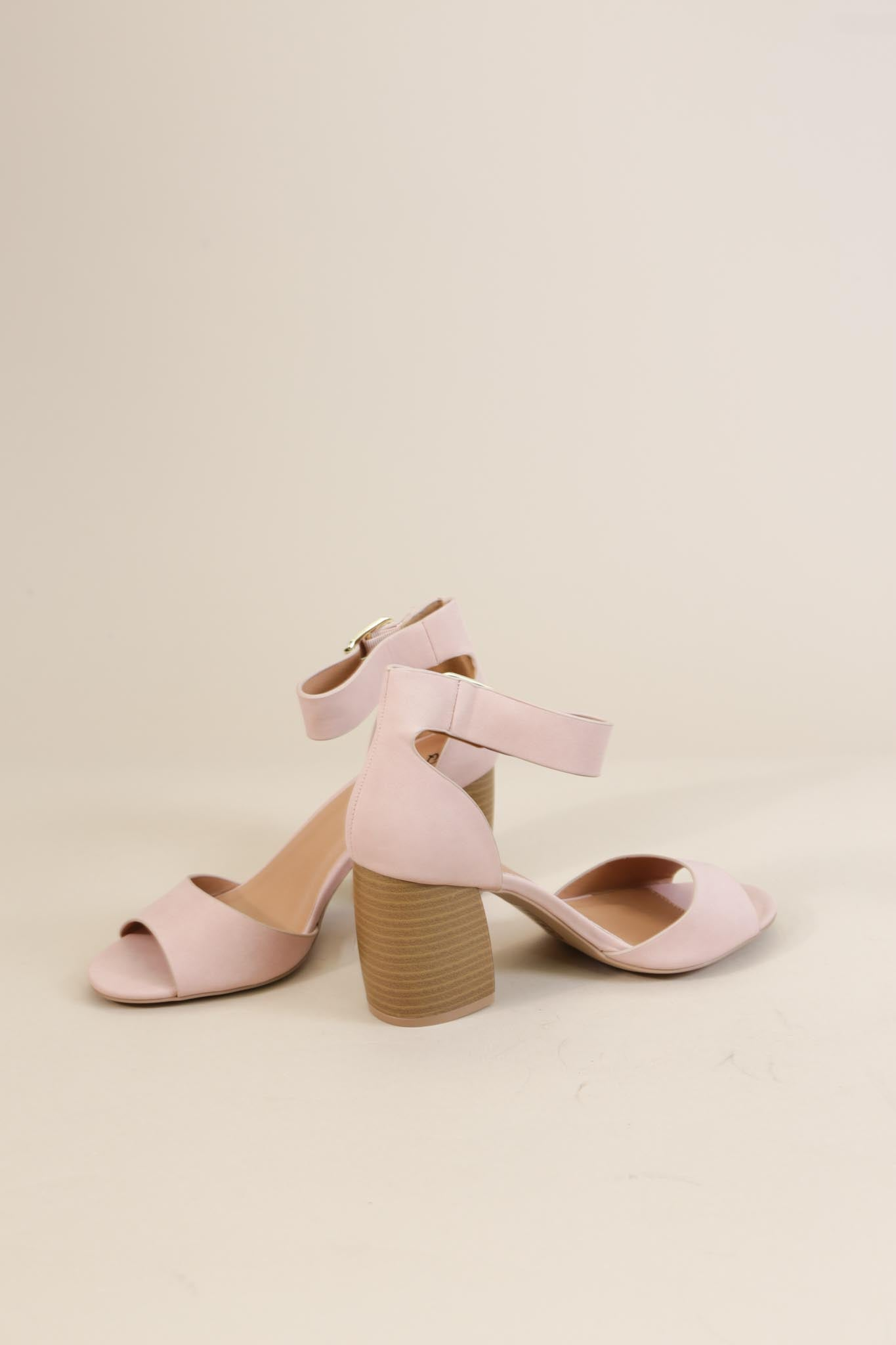 Beau Single Band Sandal, Blush