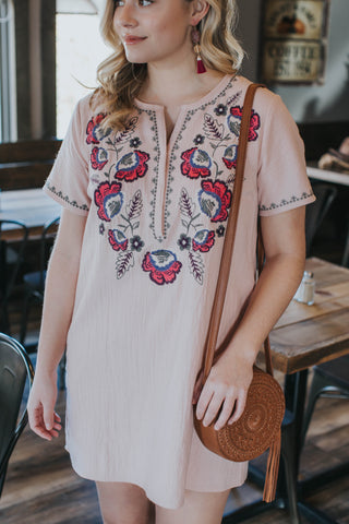 Wild Heart Dress, Blush | Wedding Guest Clothing