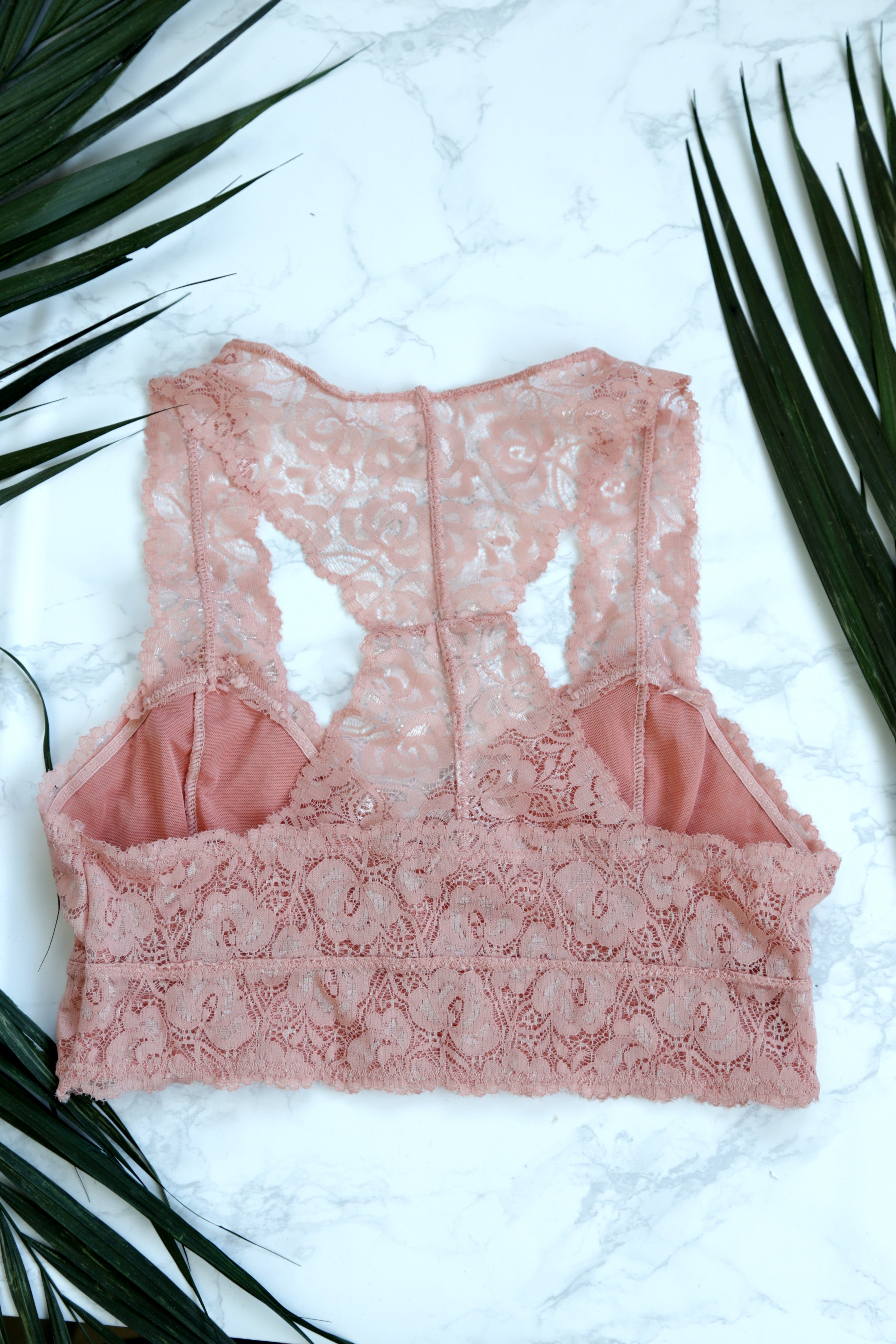 Allure Bralette, Rose