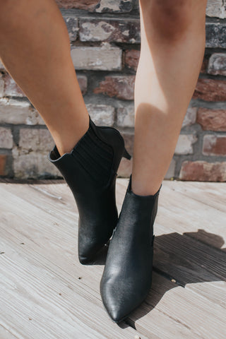 Saucy Ankle Boot, Black