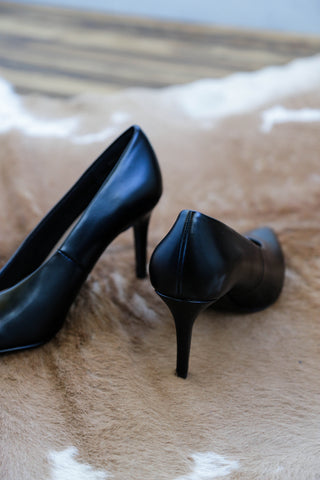 Leather Pump, Black | Chinese Laundry