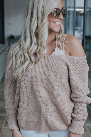 Solid Twist Front or Back Sweater, Lilac