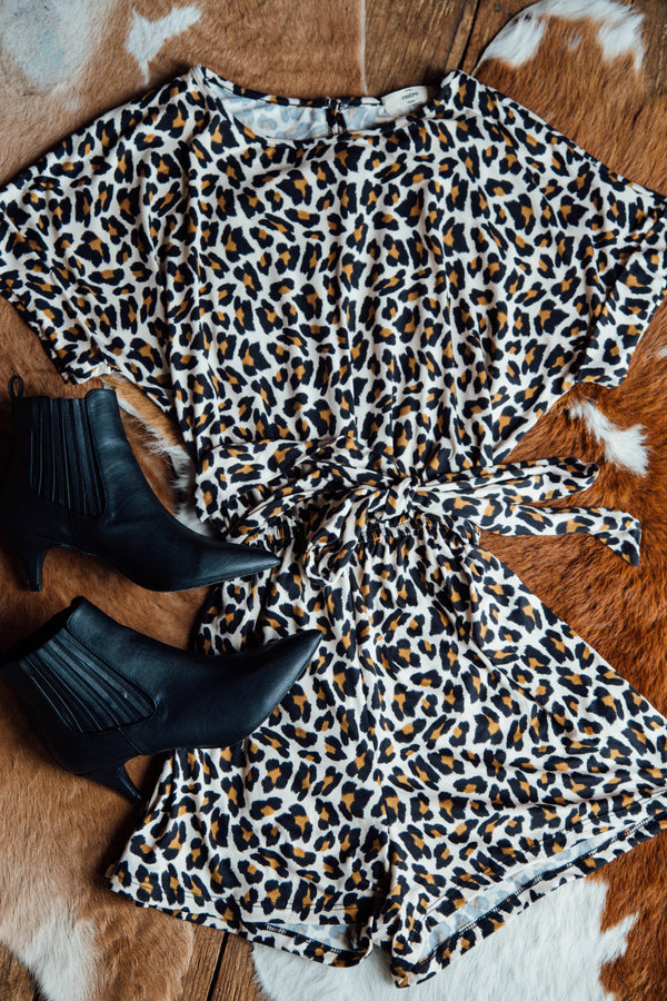 In The Wild Romper, Leopard