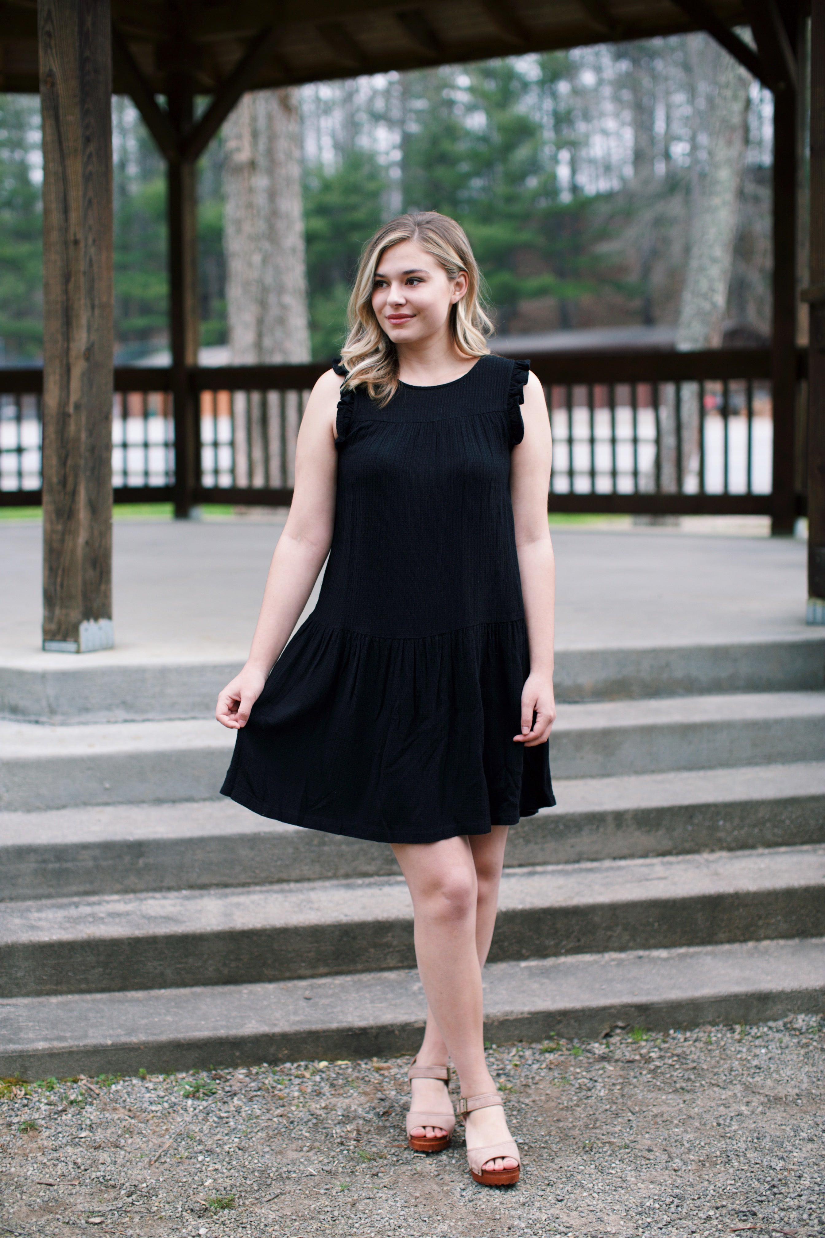Summer Little Black Dress, Black | Women's Dresses
