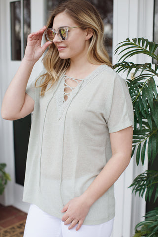 Collins Chiffon Mini Dress, Taupe