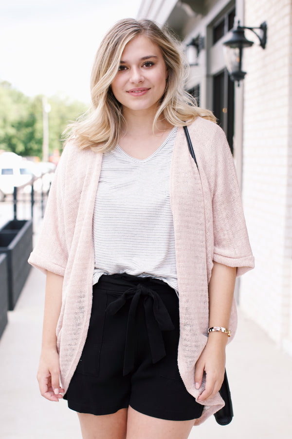 Janet Cardigan, Blush | Women's Outwear