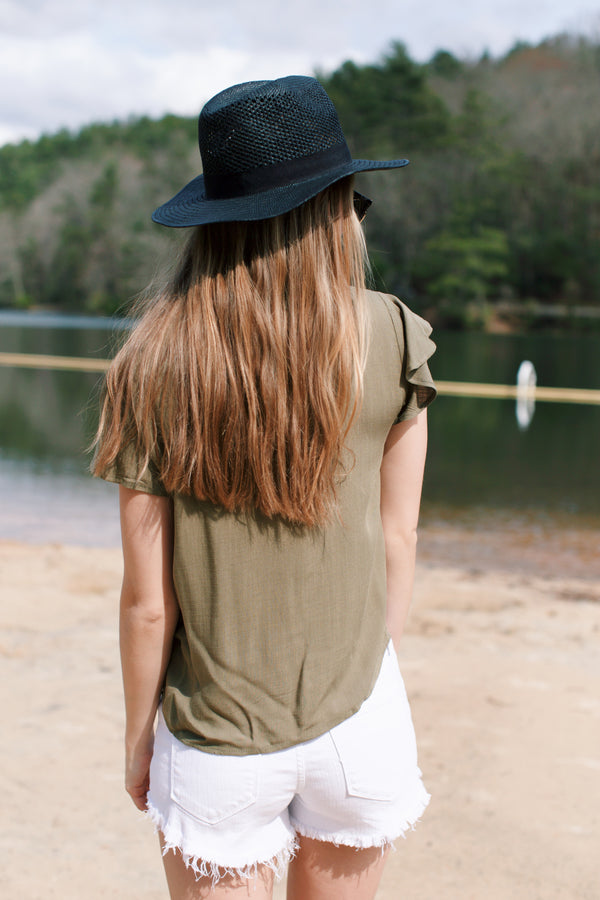Brooklyn Top, Olive