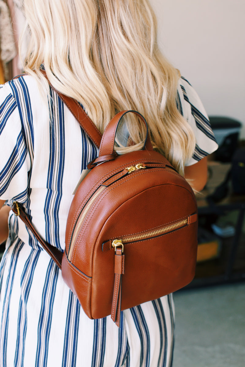 Megan Backpack, Brown | FOSSIL