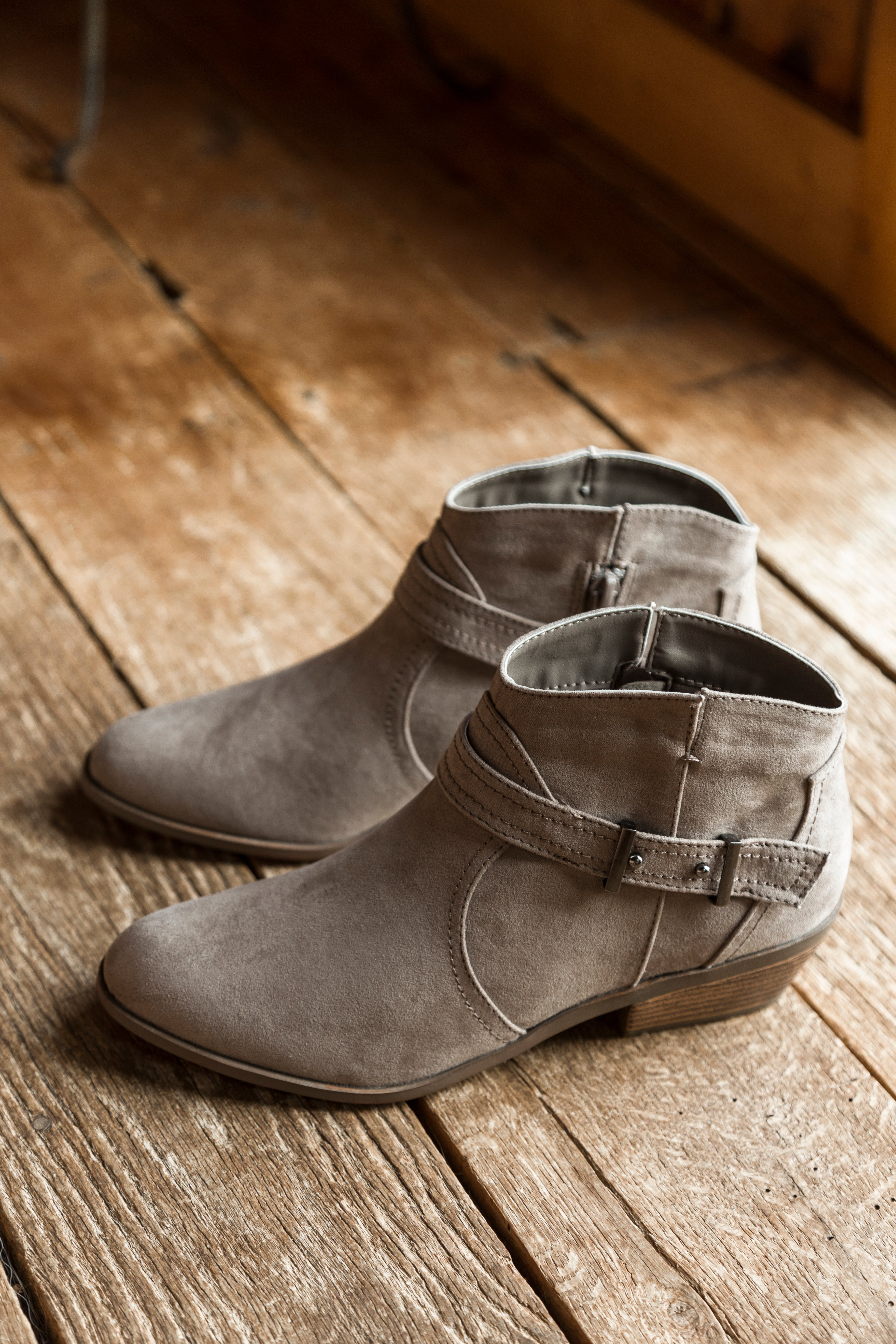 Phedra Ankle Boot, Taupe