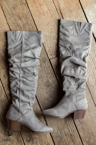 Montana Over The Knee Boot, Taupe