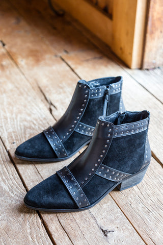 Sorrento Studded Ankle Boot, Black | Amuse Society X Matisse