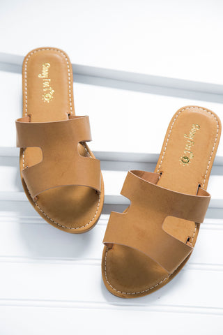 Maintain Slide On Sandal, Tan