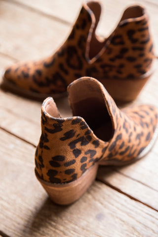 Sunny Side Cut Boot, Leopard