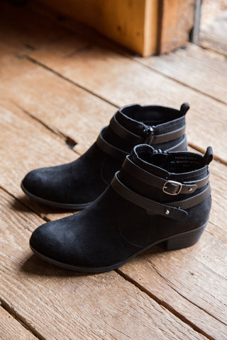 Favorite Bootie Double Strap, Black